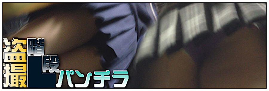 エロ動画:追い撮り!!階段パンチラ:丸見えまんこ
