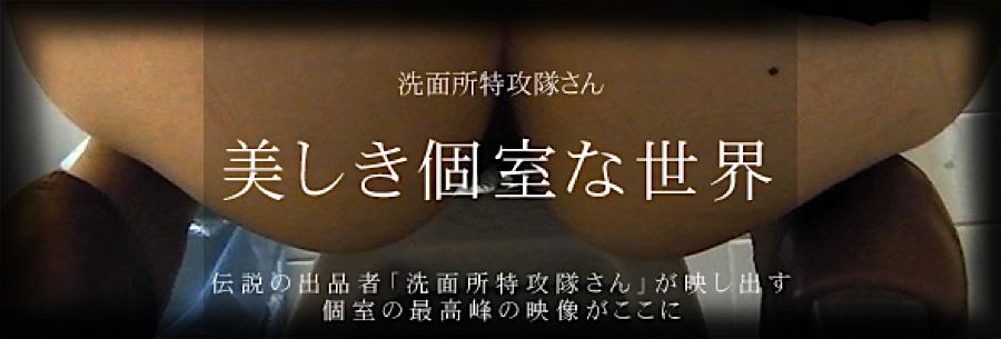 エロ動画:美しき個室な世界:無修正オマンコ