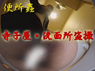 エロ動画:寺子屋・洗面所盗SATU:おまんこパイパン