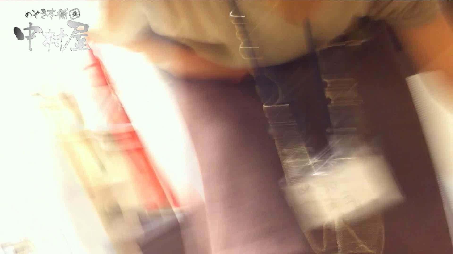 エロ動画:vol.52 美人アパレル胸チラ&パンチラ おとなしそうな店員の胸元にアタック!:のぞき本舗 中村屋