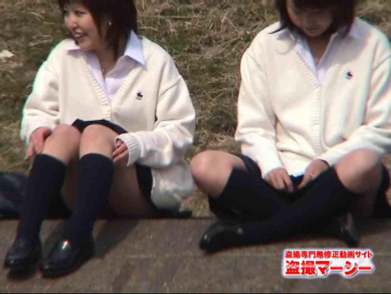 エロ動画:街パン 望遠盗撮 制服女子:のぞき本舗 中村屋