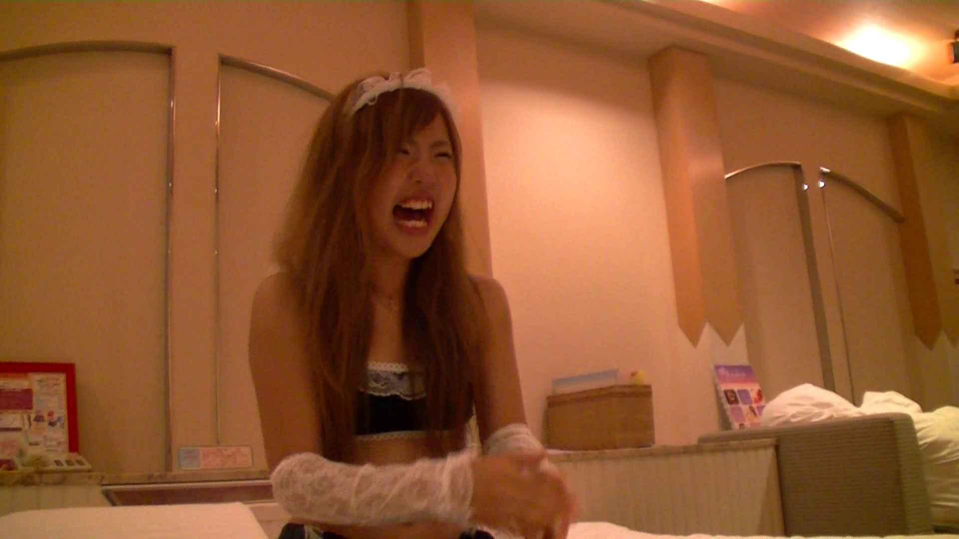 vol.1 警戒されながらラブホテルへ!優ちゃんの撮影開始です。 メイド編  47連発 24