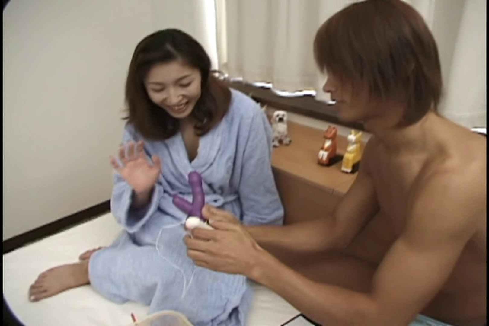 昼間の奥様は欲求不満 ~安田弘美~ SEXプレイ   おっぱい娘  73連発 37