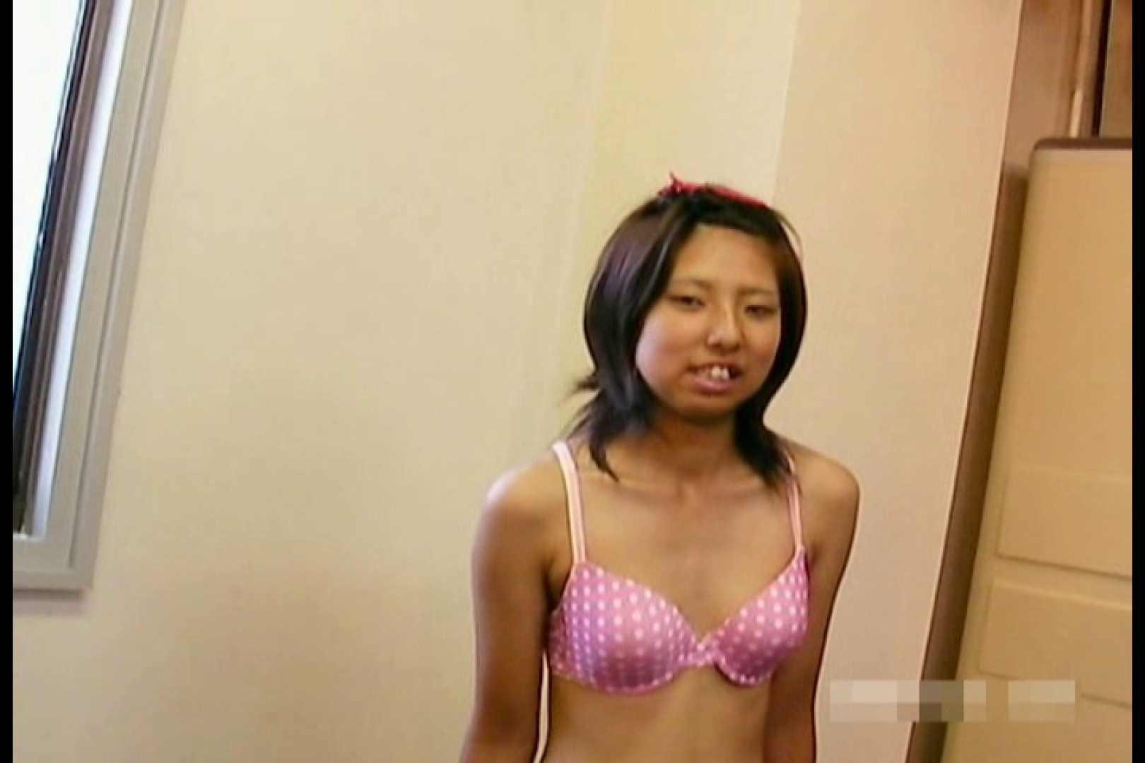 素人撮影 下着だけの撮影のはずが・・・エミちゃん18歳 特撮オマンコ | 水着娘  105連発 33