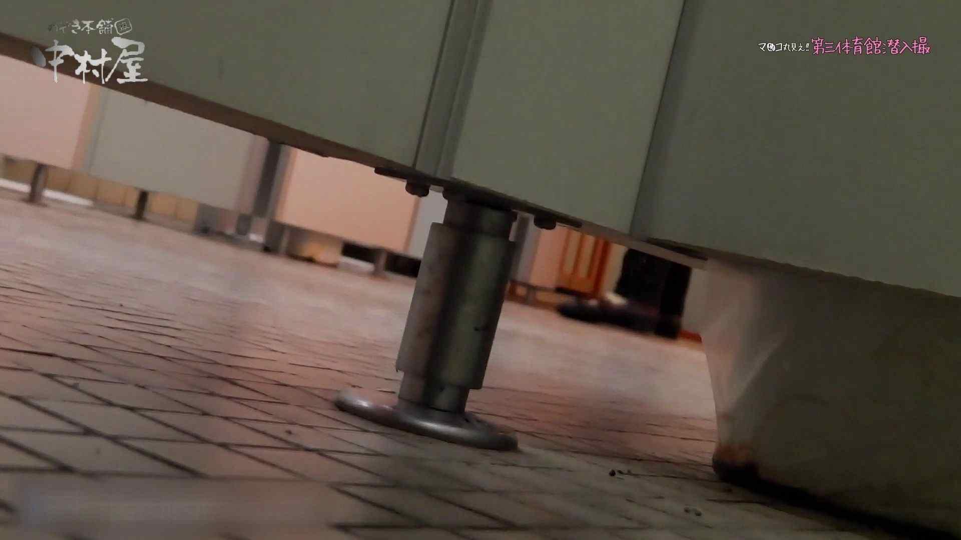 第三体育館File044長身のバレー部員が目の前の個室に入ってくれました。後編 体育館 盗み撮り動画キャプチャ 80連発 56