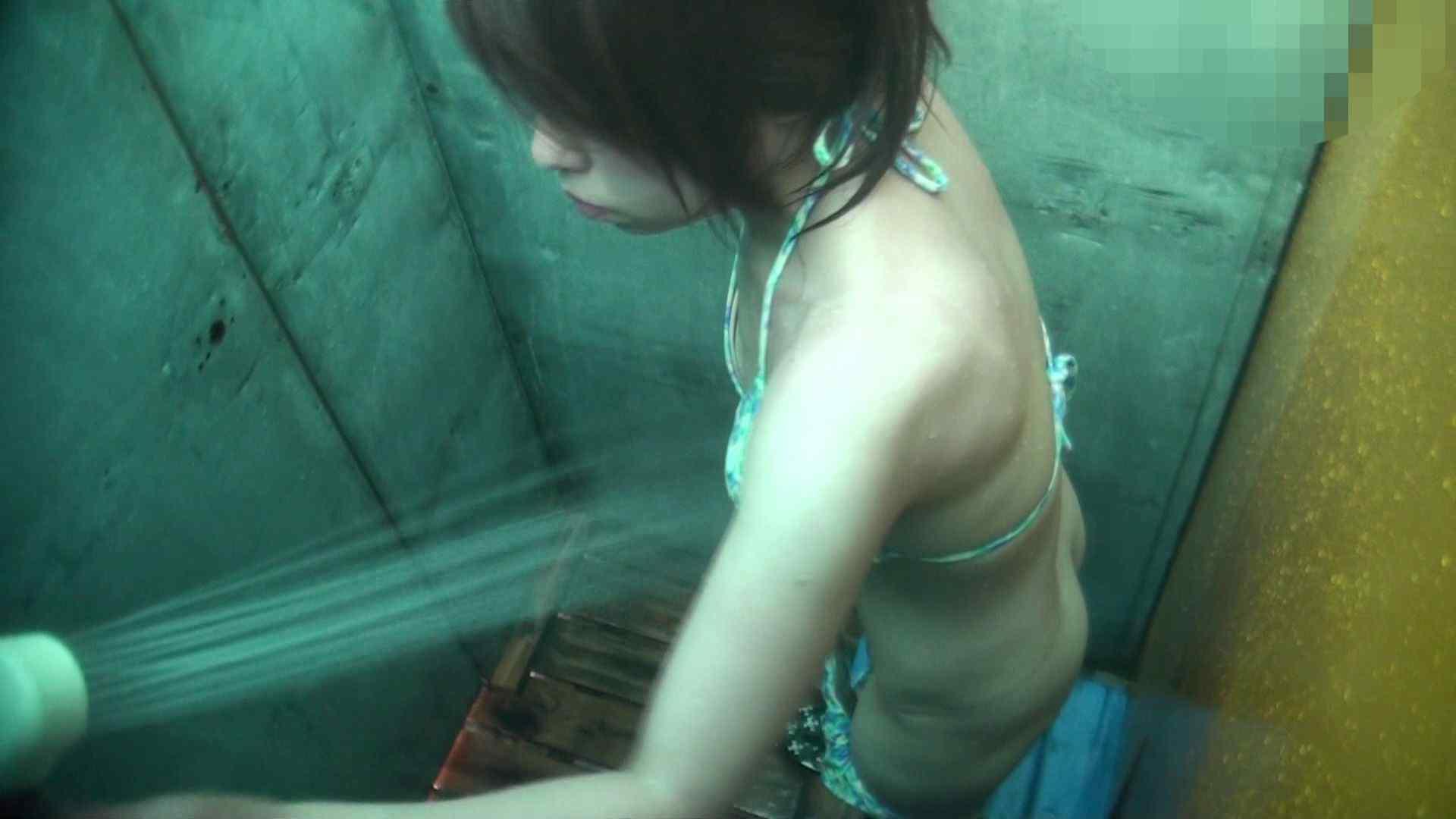 シャワールームは超!!危険な香りVol.15 残念ですが乳首未確認 マンコの砂は入念に シャワー 隠し撮りオマンコ動画紹介 63連発 48