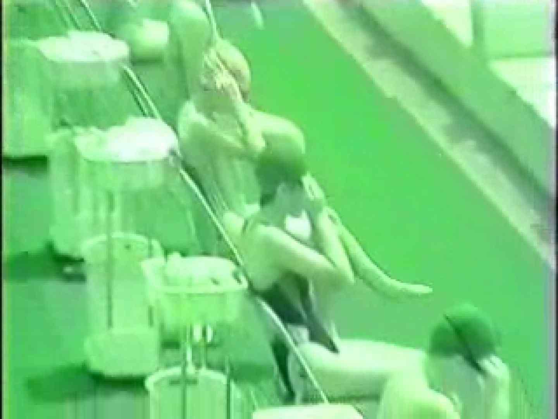 スケスケ競泳水着(ライティング)Vol.2 赤外線 戯れ無修正画像 67連発 59